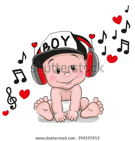 cute cartoon baby with
