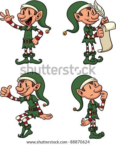 cartoon elves.