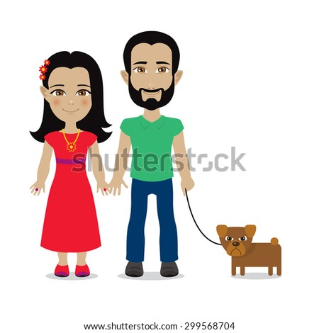 cute cartoon illustration of a