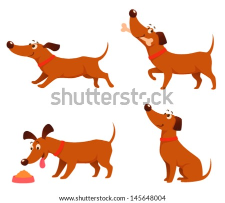 Cartoon Dogs Graphics Download Free Vector Art Stock Graphics