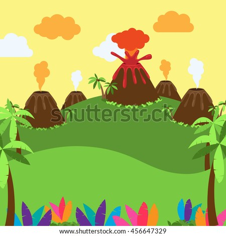 cute cartoon vector background