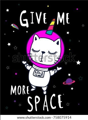 cute cats give me more space