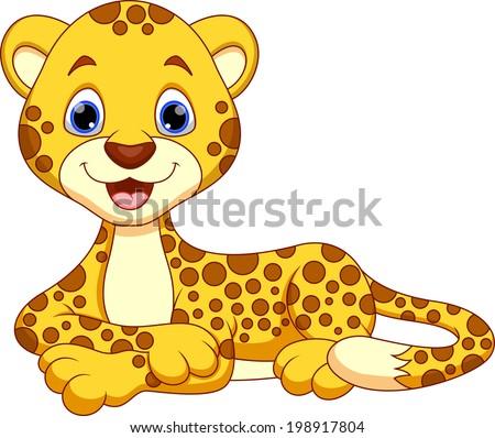 Cheetah Babies - Download Free Vector Art, Stock Graphics & Images
