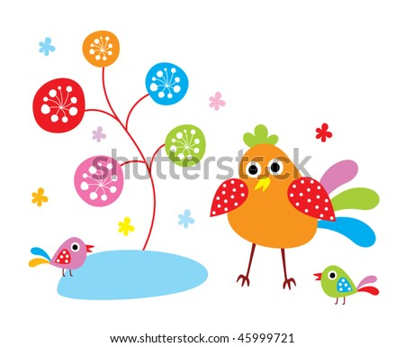 cute chicken garden
