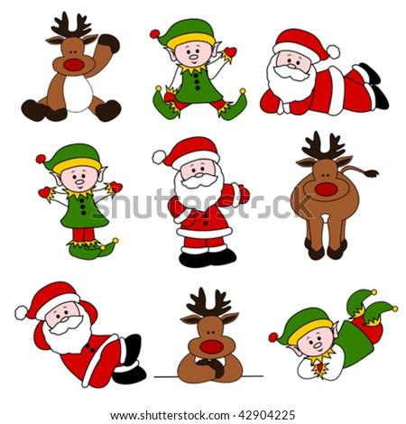 christmas christmas tree christmas santa santa