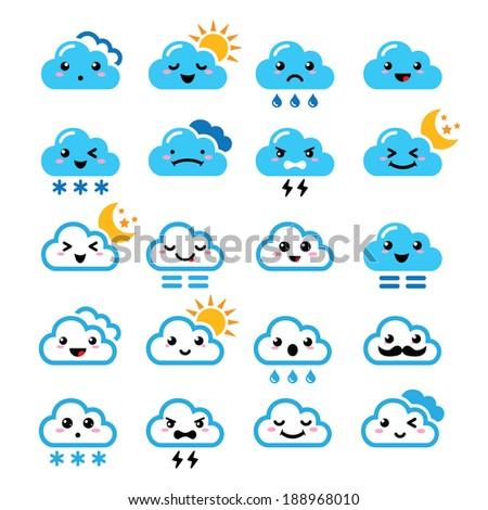 cute cloud   kawaii  manga