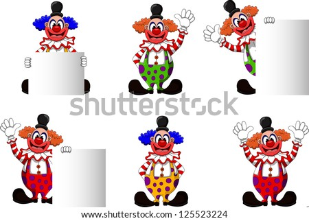 cute clown collection
