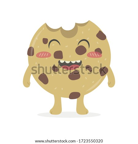cute cookie vector cartoon