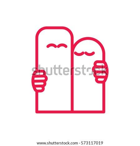 cute couple fingers hug thin