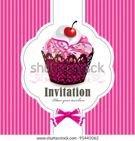 cute cup cake design i