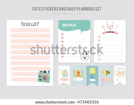 monthly daily planner vector download free vector art stock