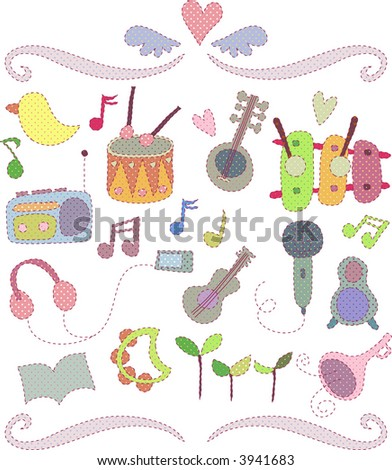 cute decorative set 01