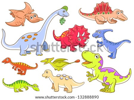 Cute Dinosaur Logo Cute Dinosaurs Eps10 File