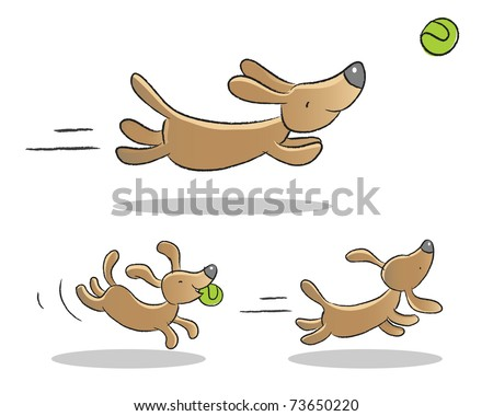 Cute Animated Dogs