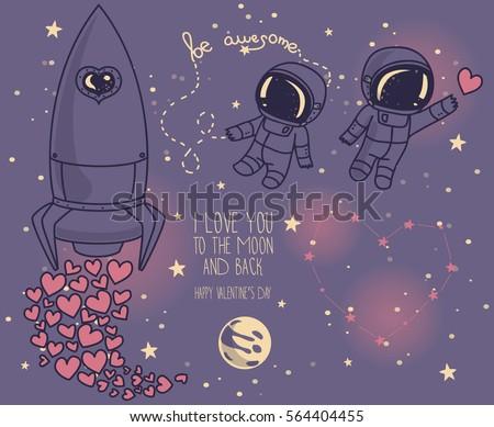 cute doodle elements for