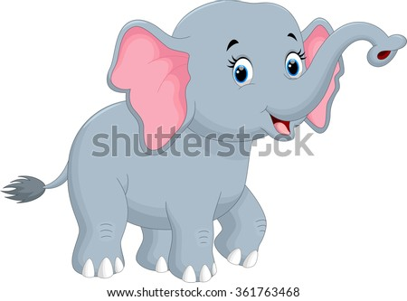 stock-vector-cute-elephant-cartoon