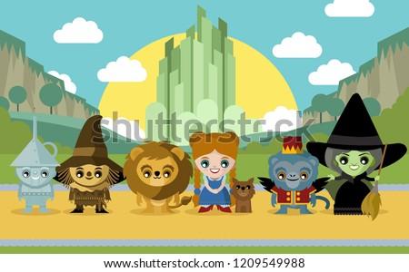 cute fairytale characters