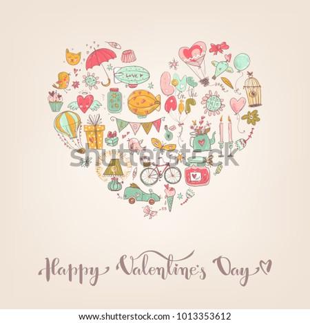 cute fall in love heart