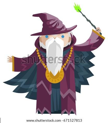 cute fantasy wizard