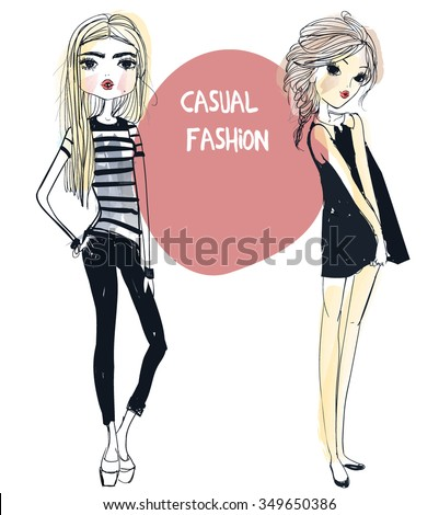 cute fashion girls