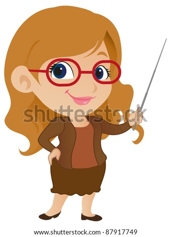 cute female teacher