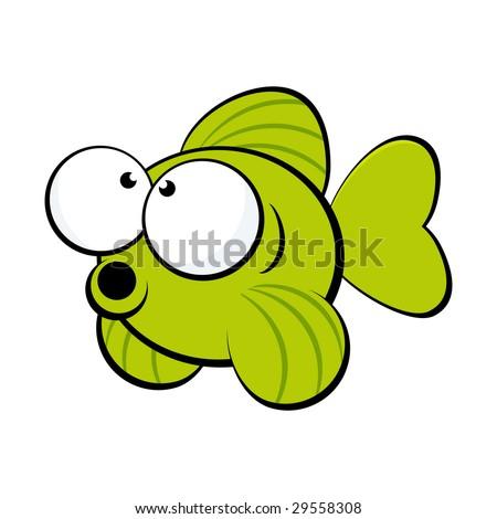 cute fish mascot