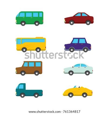 Cute flat car design