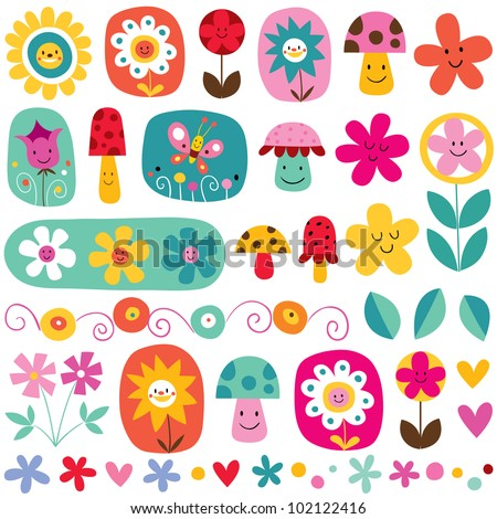 cute flowers pattern