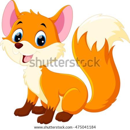 cartoon fox download free vector art stock graphics images