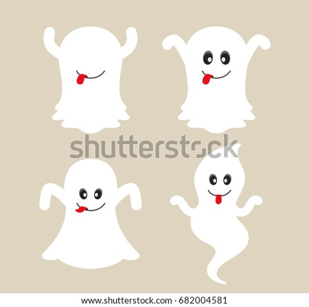 cute ghost cartoon collection