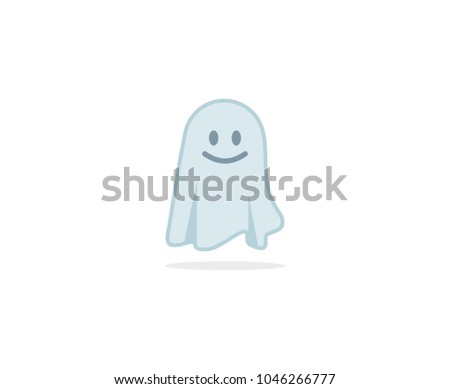 cute ghost logo