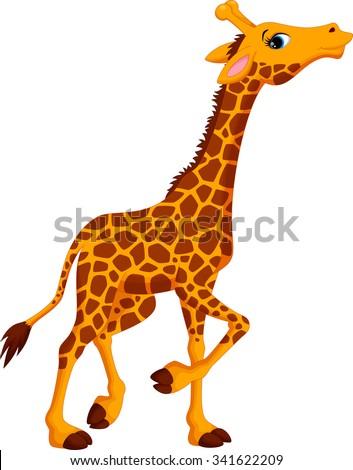 stock-vector-cute-giraffe-cartoon