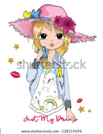 cute girl   t shirt print