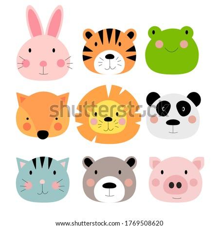 cute hand drawn animals