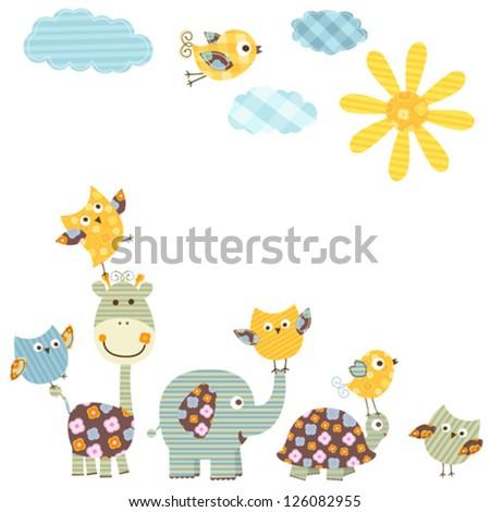 cute happy animals