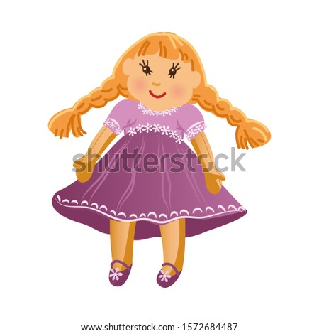 cute happy smiling blonde girl