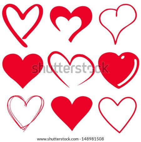 Vector the heart