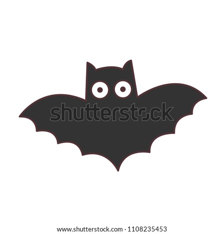 Cute illustration of Bat.