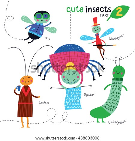 Wingless Insect  Letters