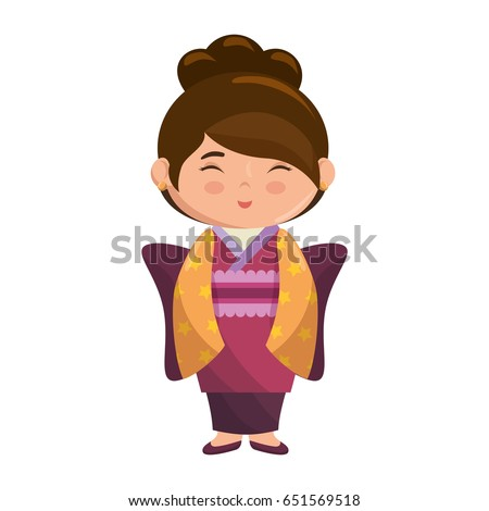 cute japanese girl cartoon