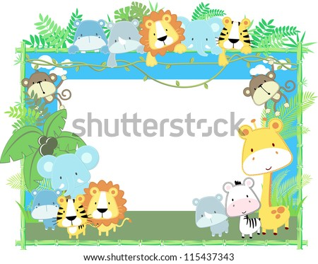 cute jungle baby animals jungle ...