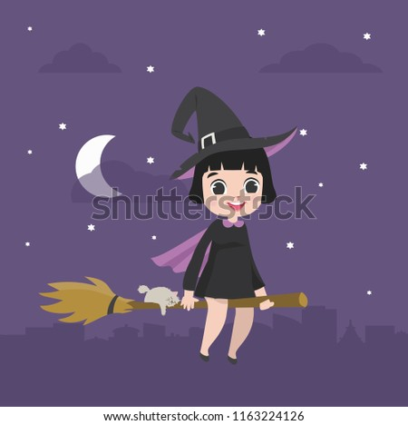cute moon character in the sky vector download free vector art