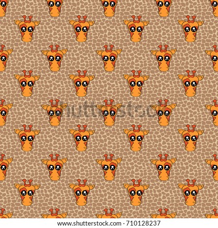 cute kids pattern for girls and