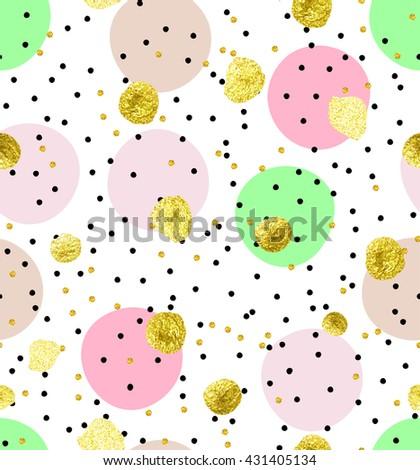 cute kids polka dot colorful