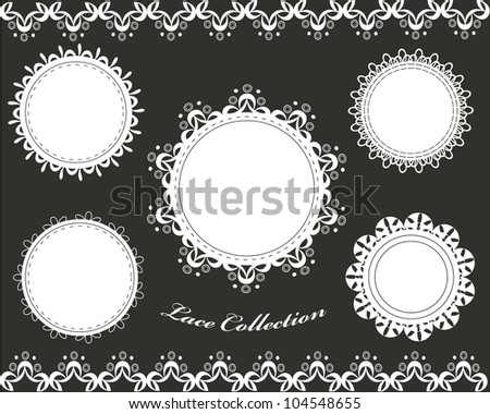 Cute lace collection