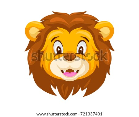 cartoon lion head download free vector art stock graphics images rh vecteezy com lion face cartoon drawing lion face cartoon drawing