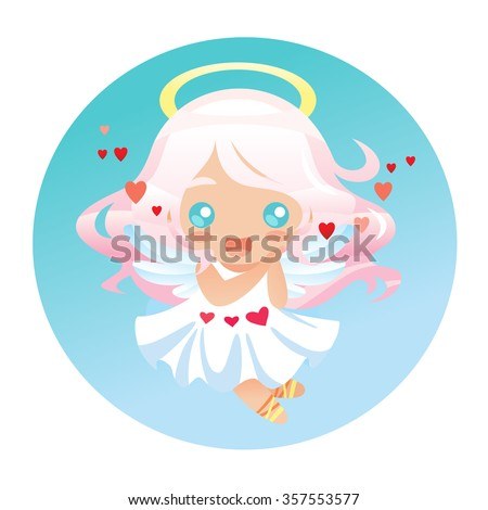 cute little angel in japanese