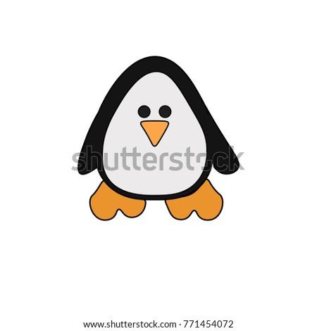 cute little baby penguin