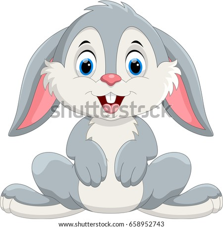 cute little bunny cartoon