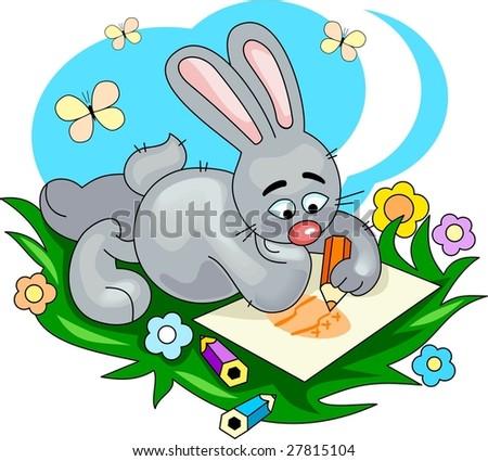 Cute Little Bunny Drawing Cute Little Bunny Drawing